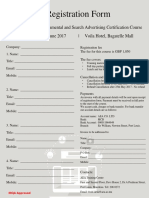 Registration Form International