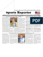 May 3 - 9, 2017  Sports Reporter