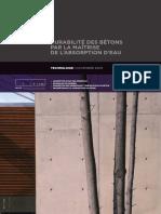 T2 Fr Durabilite Des Betons Absorption Eau