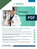 Flyer Use Cases Healthcare de Screen
