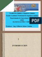 Balance de Materia en Sistemas No Reaccionantes (1)