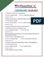 VOCABULARY-01-05-2017