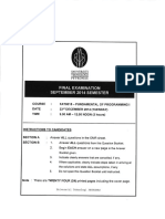 [Sept 2014] Fat 0015 Fundamental of Programming i (1)