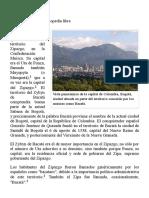 Bacatá - Wikipedia, La Enciclopedia Libre