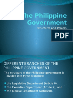 Branches of the Philippine Government