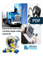 Global Aerial Work Platform (AWP) Truck Market to Register a Healthy Growth by 2022