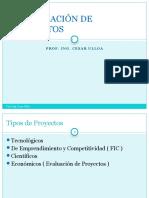 Tipologia de Proyectos