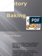 1. the History of Baking