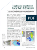 3D Hydrodynamic Computational Modelling for Hydroelectric Projects