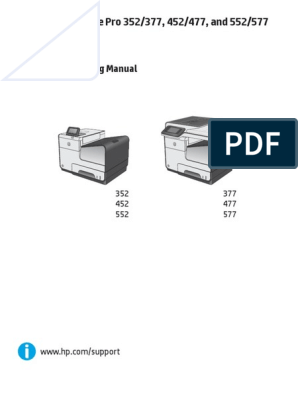 Hp Page Wide Pro 300 400 500 Series Troubleshooting | Image
