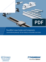 Thomson RoundRail LinearGuides Catalog