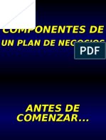ComponentesdeunPlandeNegocios-090220031345-phpapp01