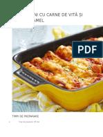 Cannelloni Cu Carne de Vita