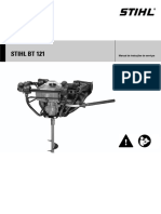 Manual Perfurador Stihl BT121