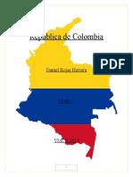 República de Colombia Portafolio