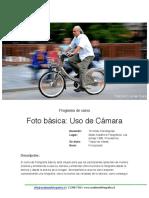 Foto Basica, Uso de Camara