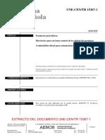 UNE CEN TR 15637-1-2015