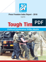 HRNJ Press Freedom Index 2016 Uganda