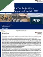 Tinka Presentation 23 March 2017
