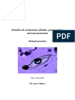 Estudios de Inclusiones Fluidas Manual