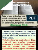 Cómo Estudiar e Interpretar La Biblia (1)