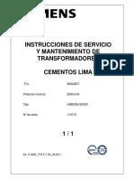 Manual Operación y Mantenimiento 2.0 MVA