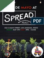 Cinco Mayo Spread