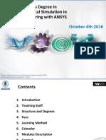 Masters Degree Catalogue