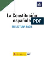 OPOSICIONES CNP 2017 - ANEXO.La Constitucion Española en Lectura Facil