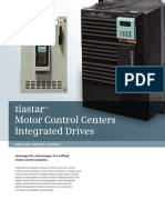 Tiastar Motor Control Center Integrated Drives Technical Brochure