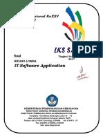 Soal LKS SMK 2017 - IT Software Application