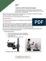 3D Scanning Technologies - An Overview