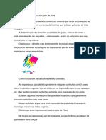 Informações Sobre Impressoras Jato de Tinta HP 8100 8600