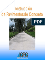 Construcción Pavimentos Rigidos ICPC