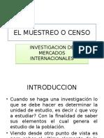 El Muestreo o Censo (1)