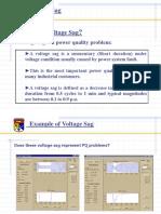 Voltage Sag Notes
