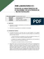 INFORME LABORATORIO MECANICA