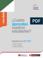 DRE Lima Metropolitana 2016 2