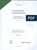 WEBER Max Economia e Sociedade