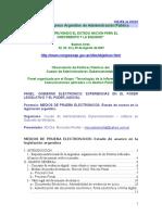Evidencia Digital en El Derecho Argentino Rivolta, Mercedes