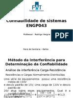 Método Da Interferência Para Determinação Da Confiabilidade - 2