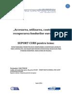 SUPORT CURS Ceccar BC Fd.europene
