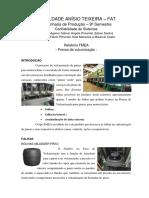Relatório Fmea Prensa de Vulcanização