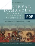 Medieval Damascus Plurality and Diversity in an Arabic Library