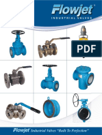 Flowjet Valves Product Brochure
