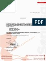 Certificado Prácticas Darienzo León Londoño Patiño