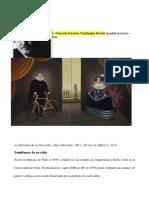 Artistas investigación- Chile
