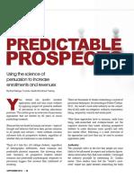 Predictable Prospects