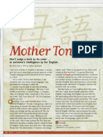"Amy Tan essay ""Mother Tongue"""
