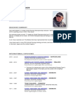 John Faulkner - Coaching CV